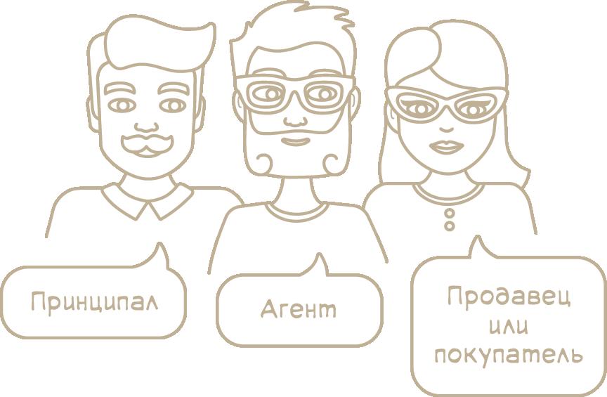 Участники агентского договора